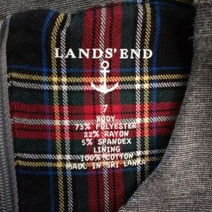 Lands' End Dresses - 🌻 Lands' End Sleeveless Gray Dress
